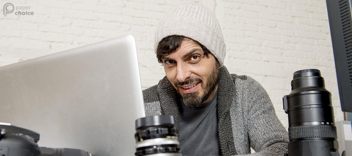 Man Beard Smile