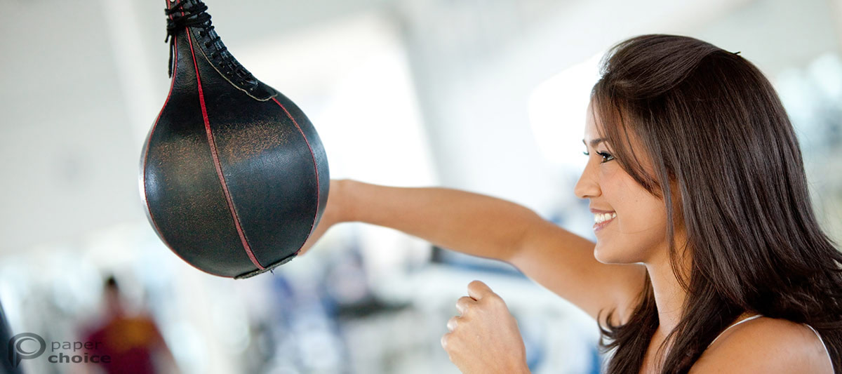 boxing the punchball