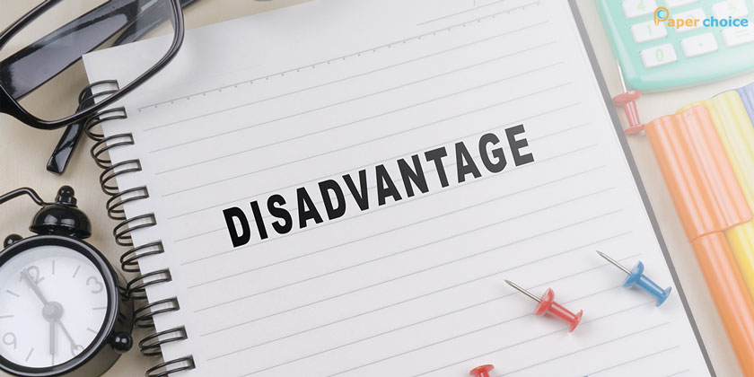 Dealing With Disadvantages