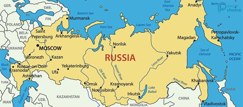 Russia Territory
