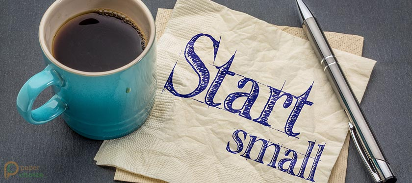 Start with Small