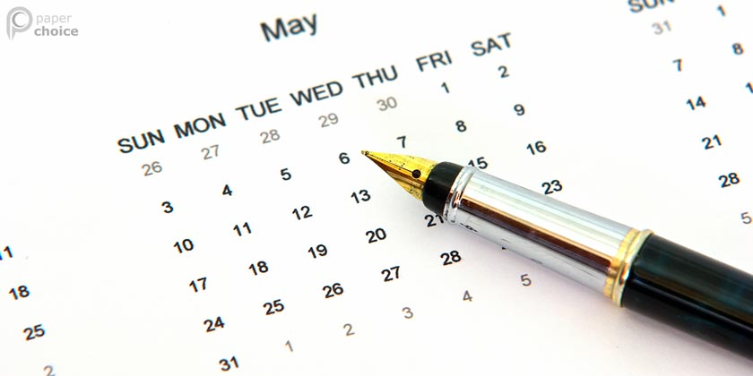 Writer's Schedule